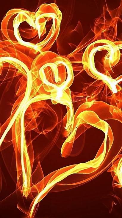 Fire Iphone Wallpapers Desktop Phone Screen Wallpapersin4k
