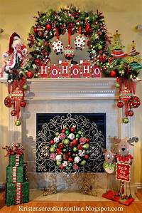 mantel christmas decorations 25+ Gorgeous Christmas Mantel Decoration Ideas & Tutorials ...