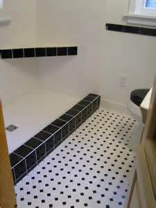 black and white bathroom tile ideas 30 pictures of bathroom design with large subway tile