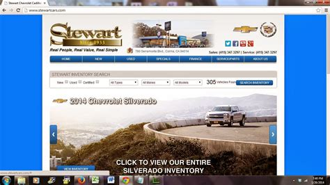 Stewart Chevrolet Cadillac by Harbor Truck Bodies January 2014