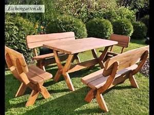 Gartenmöbel Set Aus Holz : massivholz gartenm bel set youtube ~ Whattoseeinmadrid.com Haus und Dekorationen