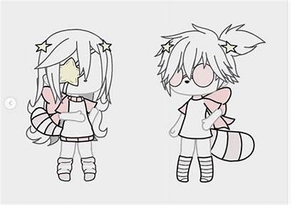 Outfits Couple Clothes Anime Aesthetic Drawings Kawaii