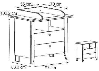 taille table a langer table basse table pliante et table de cuisine