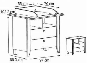 Dimension Table à Langer : taille table a langer table basse et pliante ~ Teatrodelosmanantiales.com Idées de Décoration
