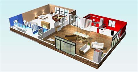 plan de chambre 3d plan de maison moderne 3 chambres 3d maison moderne