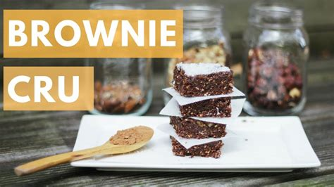 apéro rapide sans cuisson brownie cru d 233 licieux sans cuisson recette rapide