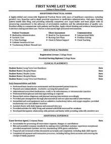 Resume Templates For Nurses Lpn by Practical Nursing Resume Best Resume Exle