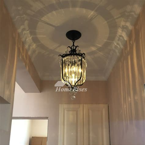 small crystal chandeliers blackgold wrought iron hanging