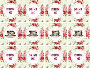 The best DIY Alice in Wonderland tea party ideas on a