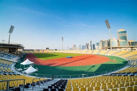 Qatar Sports Center Doha Polytan