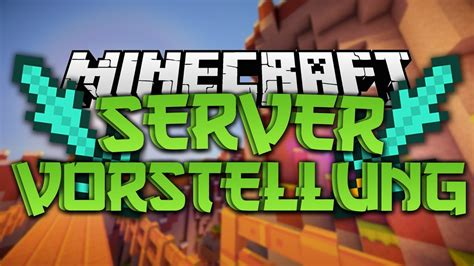 minecraft server vorstellung  community server youtube