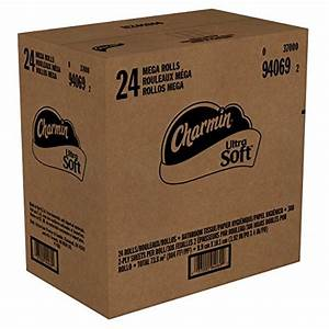 Charmin ultra soft toilet paper bath tissue mega roll for Softest bathroom tissue