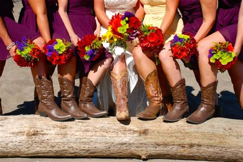 Country Summer Wedding Colors