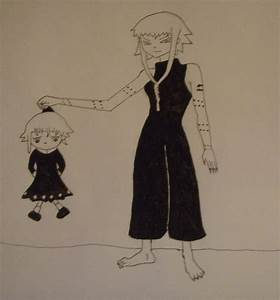 Medusa and little Crona by Bakeneko14 on DeviantArt
