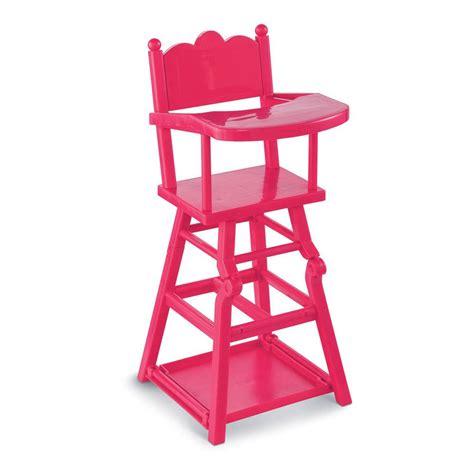 chaise haute poupée chaise haute poupée cerise corolle jeux jouets