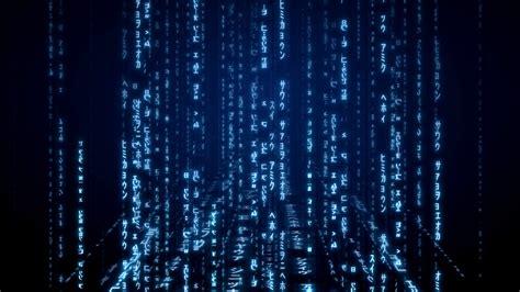 Blue Animated Wallpaper - blue matrix wallpaper 56 images