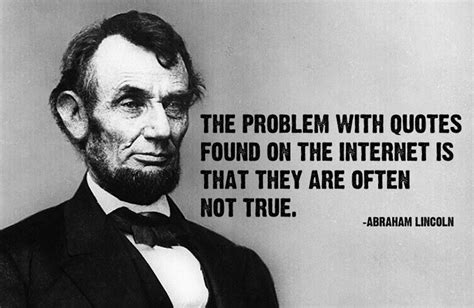 foto de Lincoln Never Said That (Or Why You Should Research