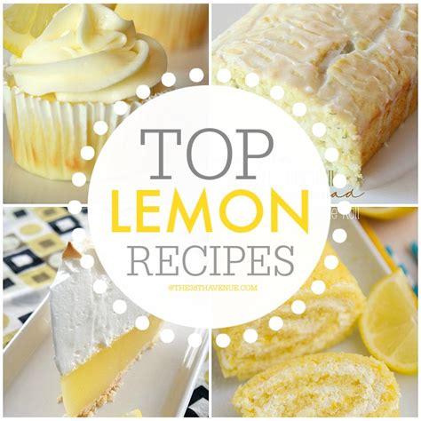 Best Pumpkin Cake Mix by Best Lemon Dessert Recipes The 36th Avenue