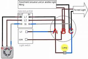 Two Light Bathroom Fan Switch Wiring Diagram