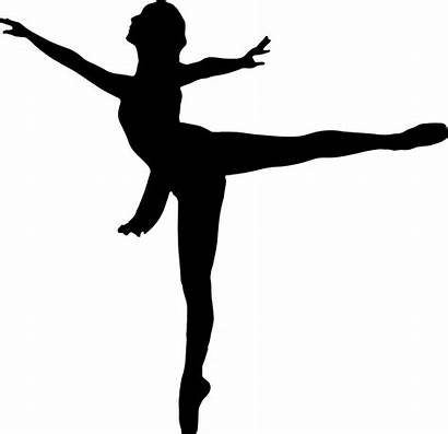 Silhouette Dancer Clipart Clip Ballet Clipartmag