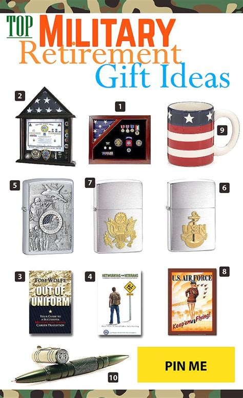 Top Military Retirement Gift Ideas - Vivid's Gift Ideas