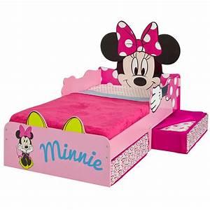 Minni Maus Bett : minnie mouse mdf kleinkind bett mit lager federkernmatratze ebay ~ Buech-reservation.com Haus und Dekorationen