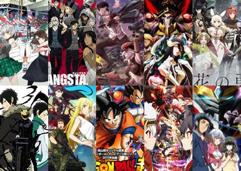 Top Chart Anime Action Action Anime Summer 2015 Fantasy Mystery Recommendations