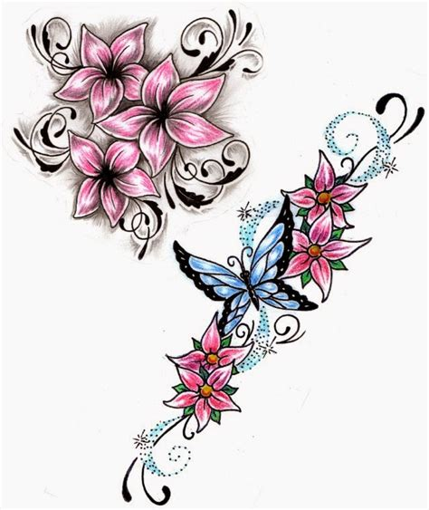 flower tattoo designs clipartsco