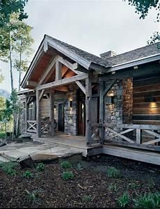 Rustic Home Exteriors Beautiful Rustic Exterior Design
