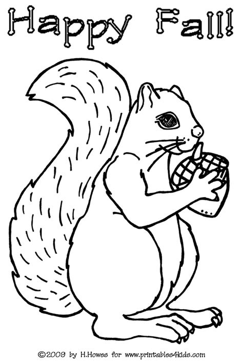 squirrel coloring pages getcoloringpagescom