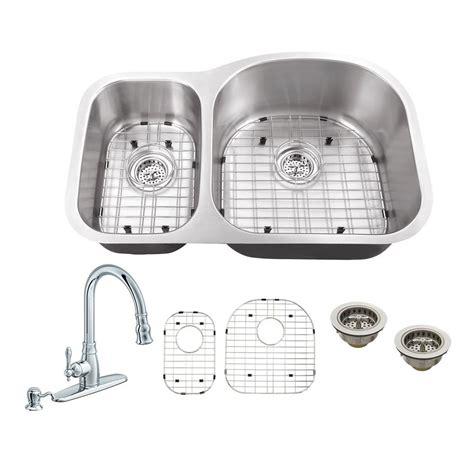kitchen sinks winnipeg all in one undermount stainless steel 31 5 in 30 70 3070
