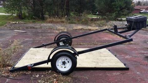 lay flat utilitymotorcycle trailer trailers