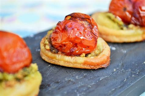 cheap canapes recipes balsamic tomato canapé recipe great chefs