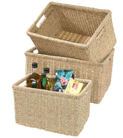 STORE   Small Seagrass Basket