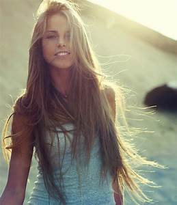 beach, long brown hair, smile, summer - image #703895 on ...