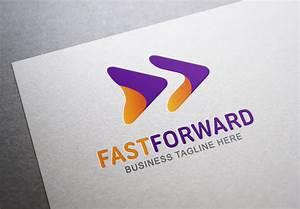 Fast Forward ~ Logo Templates on Creative Market