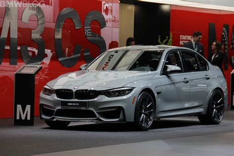 Bmw Detroit by 2018 Detroit Auto Show Bmw M3 Cs Looks Sportier Than