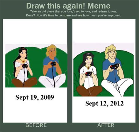 Playing Games Meme - before and after playing video games meme by fapingmulan on deviantart