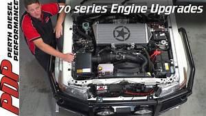 Toyota Landcruiser 70 Series Engine Bay Upgrades