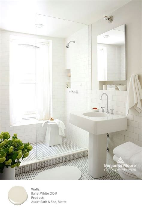 White Spa Bathroom by Gorgeous White Rooms From Our House Tours Color Trends