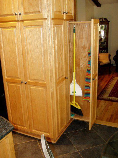 Kitchen Pantry Storage Cabinet Broom Closet by Broom Closet Kitchens In 2019 Broom Storage