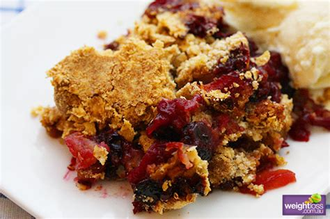 If you do, be sure to add 1/2 tsp of baking soda so they puff up! Apple & Blueberry Crumble
