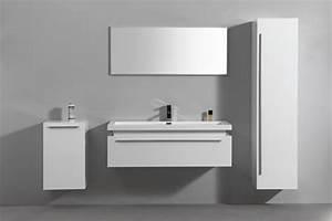 armoire salle de bain alinea armoire de salle de bain With salle de bain design avec vasque haute