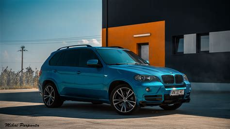 Bmw X5 M Hd Picture by Wallpaper Bmw X5 Blue Car Suv Picture Hd Photo