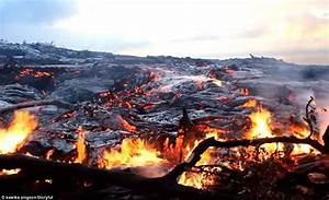 Incredible Footage From Hawaii Captures Lava From Active