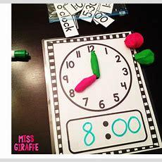Miss Giraffe's Class Telling Time In First Grade