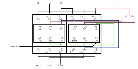 square d lighting contactor wiring diagram wiring
