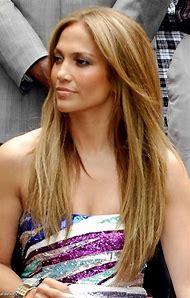 Jennifer Lopez with Blonde Hair
