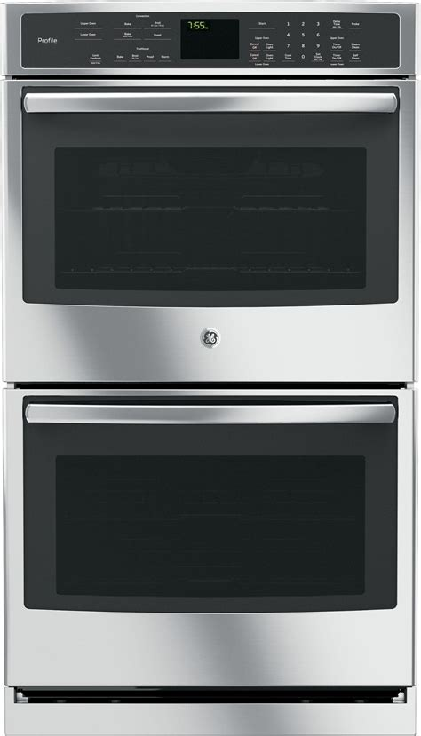 general electric ptsfss   built  electric double wall oven  convection stainless