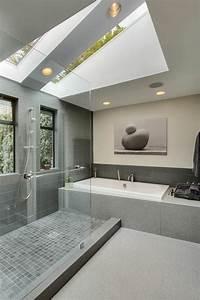 la fenetre de toit en 65 jolies images With velux pour salle de bain